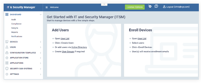 Comodo IT and Security Manager