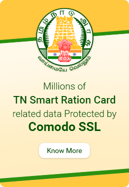 tnpds.gov.in Secured By Comodo SSL